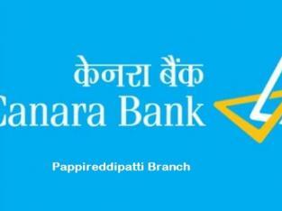 Canara Bank Pappireddipatti