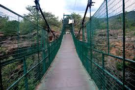 Hanging bridge hogenakkal