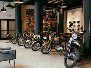 Royal Enfield showroom – Dharmapuri