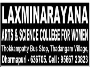 Lakshmi Narayana Arts And Science College Women