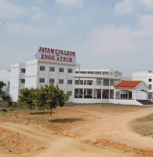 Jayam College of Engineering Technology – Dharmapuri