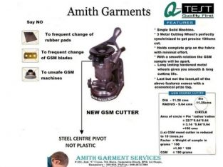 Amith Garment Services – Bangalore