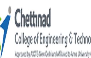Chettinad College of Engineering & Technology Karur