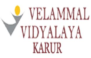 Velammal Vidyalaya School  Karur