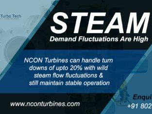 Steam Turbine Manufacturers in India – Nconturbines.com